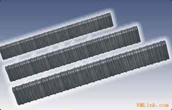 塑料波纹管扁管